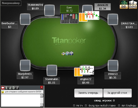 За покерным столом